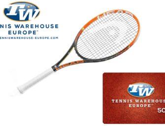 Head-Racket + 50€-Gutschein