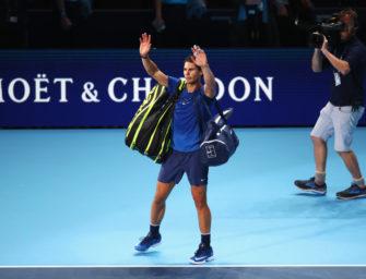 """Rafael Nadal in London: """"Sinnlos, jetzt noch weiterzuspielen"""""""