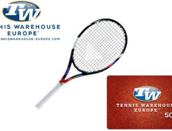 Tecnifibre-Racket + 50€-Gutschein