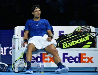 """Nadal: """"Will im Kampf um die eins nicht zurückschlagen"""""""