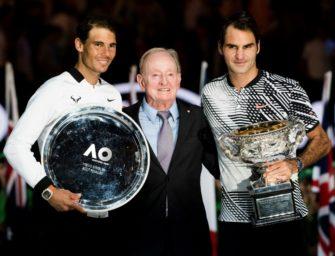 Duell des Jahres: Roger Federer gegen Rafael Nadal