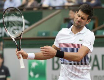 Wieder der Ellbogen: Djokovic sagt Start in Abu Dhabi ab