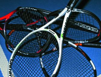 tennis MAGAZIN Schlägertest 2018: 17 Rackets für Turnierspieler