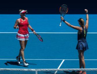Mladenovic und Babos gewinnen Damendoppel in Melbourne