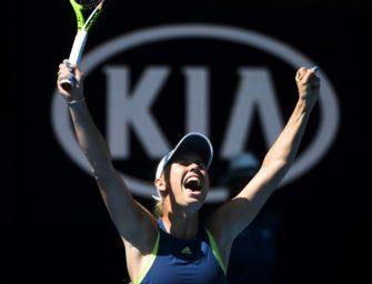 Wozniacki zum ersten Mal im Finale der Australian Open