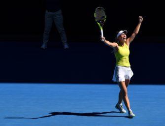 Wozniacki wehrt zwei Matchbälle ab und verhindert frühes Aus