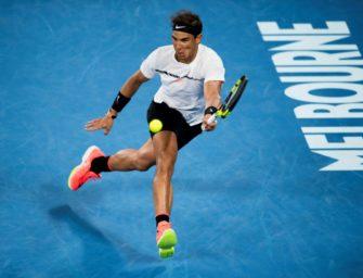 Australian Open: Nadal stürmt in die zweite Runde