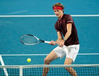 Zverev unterliegt Federer: Deutschland beim Hopman-Cup-Finale in Rückstand