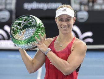 Kerber Topfavoritin bei Australian Open