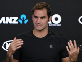 """Federer: """"Ein 36-Jähriger sollte nicht der Favorit sein"""""""