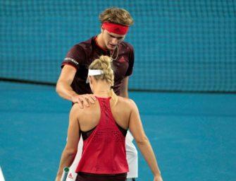 Niederlage im Mixed: Kerber und Zverev verpassen Hopman-Cup-Titel