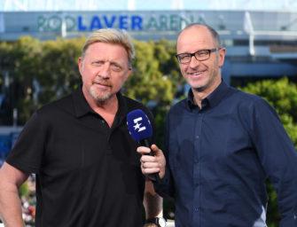 Australian Open: 300 Stunden Live-Tennis bei Eurosport