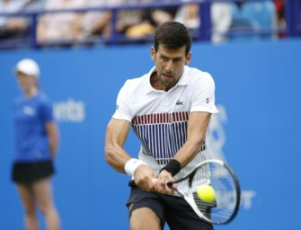 Australian Open: Djokovic gewinnt bei fast 40 Grad