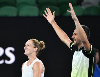 Kroate Pavic gewinnt im Mixed zweiten Titel in Melbourne