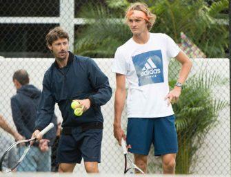 Fehlende Disziplin: Ex-Trainer Ferrero kritisiert Zverev