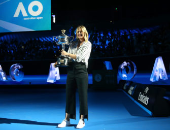 Mail aus Melbourne: Kerber vs. Sharapova – Als wäre nie etwas gewesen