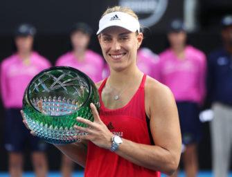 Vom Sorgenkind zur Titelkandidatin: Kerber triumphiert in Sydney