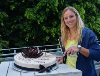 Mail aus Melbourne: Geburtstagskind Kerber wieder ganz bei sich