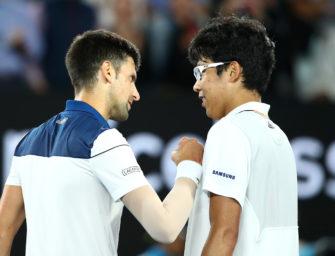 """Djokovic kämpft vergeblich: """"Er war wie eine Wand"""""""
