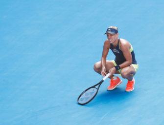 Australian Open: Kerber verliert ein irres Halbfinale