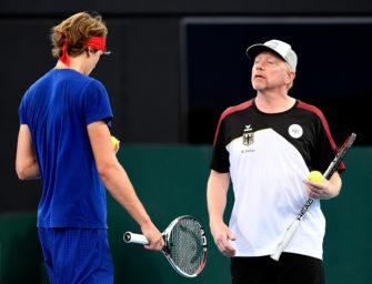 Davis Cup: Mit Fachwissen und Alexander Zverev