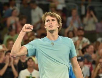 Davis Cup: Zverev bringt DTB-Auswahl in Führung