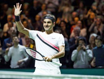 Rangliste: Federer übernimmt offiziell, Görges fliegt, Marterer top
