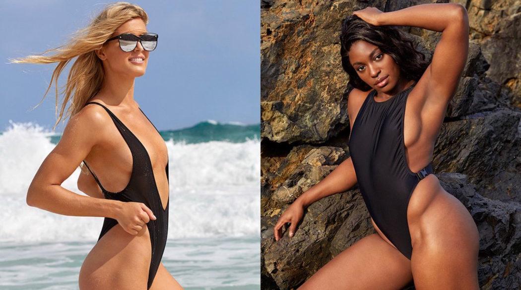 Swimsuit-Edition: Bouchard und Stephens lassen Hüllen fallen ...