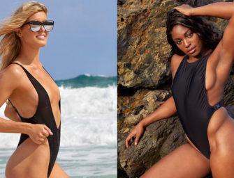 Swimsuit-Edition: Bouchard und Stephens lassen Hüllen fallen