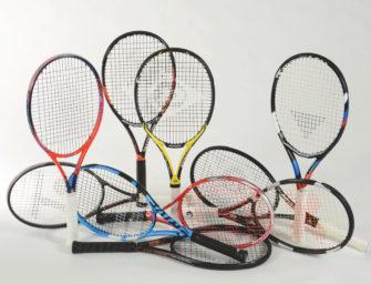 tennis MAGAZIN Schlägertest 2018: 16 Rackets für Club- und Medenspieler