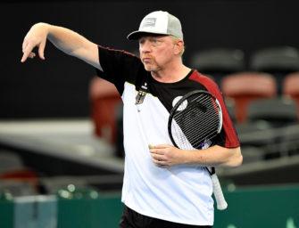 """Boris Becker: """"Der Davis Cup ist in meiner DNA"""""""