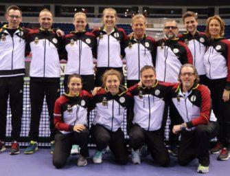 Debütantenball bei deutschem Fed-Cup-Auftakt in Weißrussland