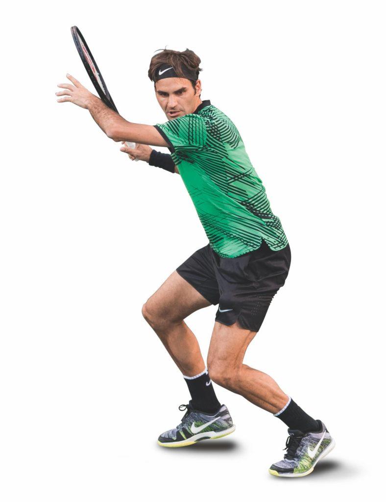 Federer schließt die Vorbereitung immer sehr früh ab