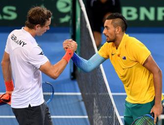 Davis Cup: Zverev gewinnt, Struff verliert – 1:1