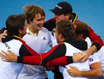 Davis-Cup-Team in Bestbesetzung gegen Spanien