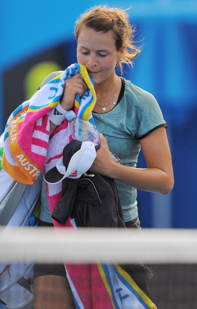 Tatjana Maria nach einer Niederlage