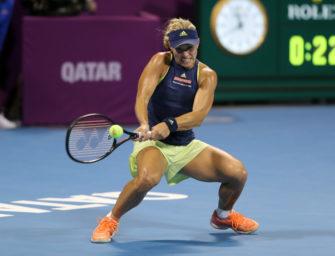 Großer Kampf vergebens: Kerber verliert gegen Wozniacki