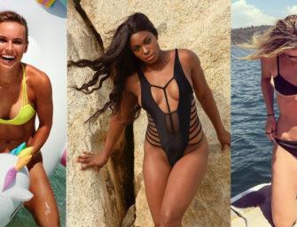 Die zehn besten Bikini-Figuren der WTA-Tour