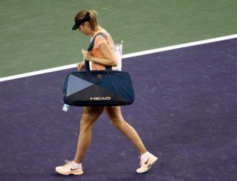 Tennisstar Scharapowa trennt sich von Coach Groeneveld