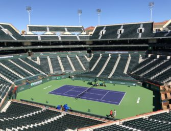 Serve & Drive in Indian Wells: Die Wüste lebt