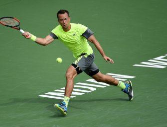 Indian Wells: Kohlschreiber im Viertelfinale