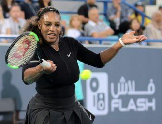 Serena Williams bereit für Comeback in Indian Wells