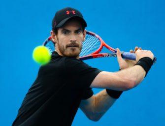 Tennis: Murray nach Hüft-OP zurück im Training