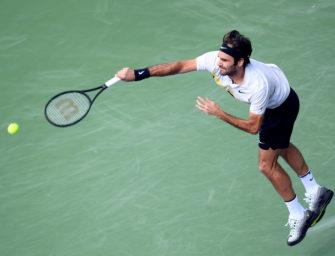 Mit Kampfkraft und Defensivtaktik: Federer im Finale von Indian Wells