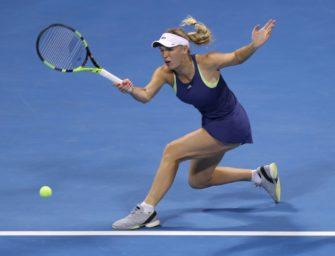 """Wozniacki beklagt sich über Zuschauer in Miami: """"Sie haben meine Familie bedroht"""""""