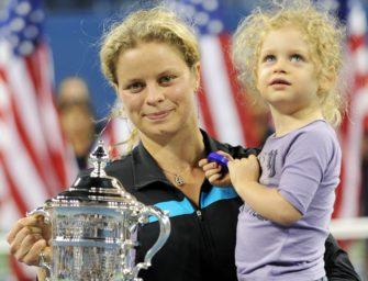 Nach Babyglück von Ivanovic: Diesen WTA-Stars gelang ein Comeback nach Schwangerschaft