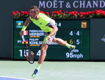 """Kohlschreiber: """"Ich ahnte, dass Indian Wells ein gutes Turnier wird"""""""