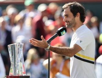 """Frustrierter Federer: """"Darf denn keiner mehr ein Wort sagen?"""""""