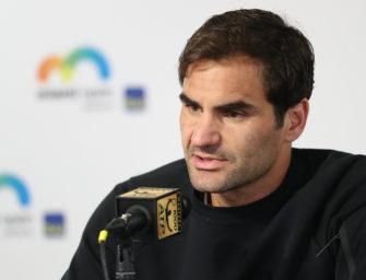 Eine Stunde mit Roger Federer