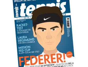 Comic Federer: Warum König Roger gezeichnet wurde